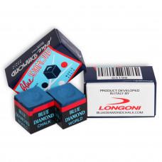 Мел бильярдный Longoni Blue Diamond Blue 2шт