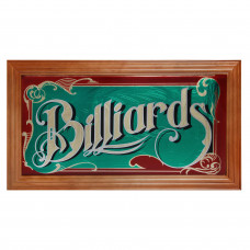 Панно зеркальное Billiards 69х38см
