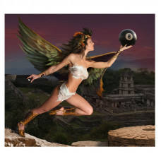 Репродукция Ангел 50х56см
