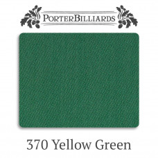 Сукно бильярдное Porter 370 Club 370 г/м2 50% шерсть 50% нейлон