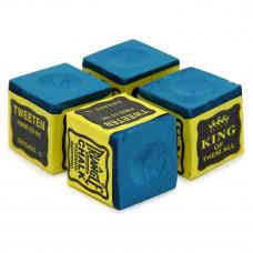 Мел бильярдный Triangle Blue 4шт
