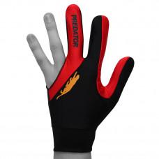 Перчатка для бильярда Predator'sHunter Velcro Multicolor черная/красная безразмерная