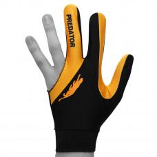 Перчатка для бильярда Predator'sHunter Velcro Multicolor черная/желтая безразмерная