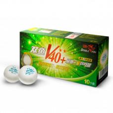 Мячи для настольного тенниса Double Fish V40+2-Star