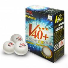 Мячи для настольного тенниса Double Fish V40+3-Star