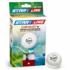 Мячи для настольного тенниса Start Line Club Select 1*