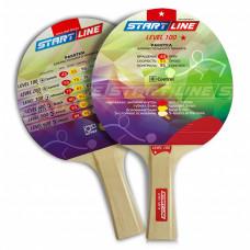Ракетка для настольного тенниса Start Line Level 100-1* Коническая