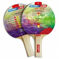 Ракетка для настольного тенниса Start Line Level 100-1* Прямая