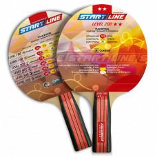 Ракетка для настольного тенниса Start Line Level 200-2* Анатомическая