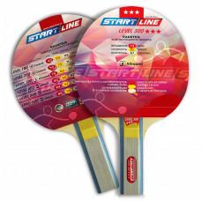 Ракетка для настольного тенниса Start Line Level 300-3* Прямая
