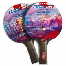 Ракетка для настольного тенниса Start Line Level 400-4* Анатомическая