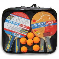 Набор для настольного тенниса Start Line Level 200 x 4