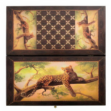 Нарды Леопард на ветке большие