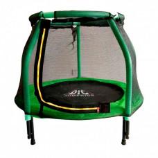 Батут DFC Jump Kids 48DM ссеткой 120см 48 дюймов зеленый