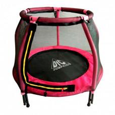 Батут DFC Jump Kids 48DM ссеткой 120см 48 дюймов розовый